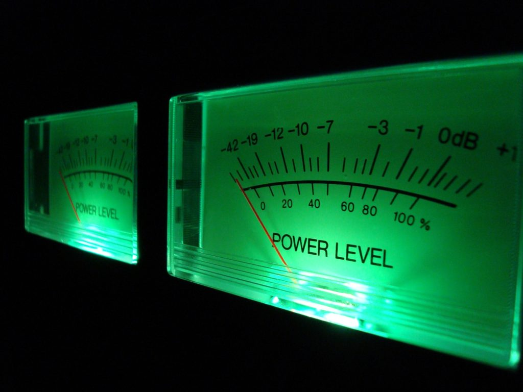 Vu Meter Vu Volume Level Analog Music Sound Audio